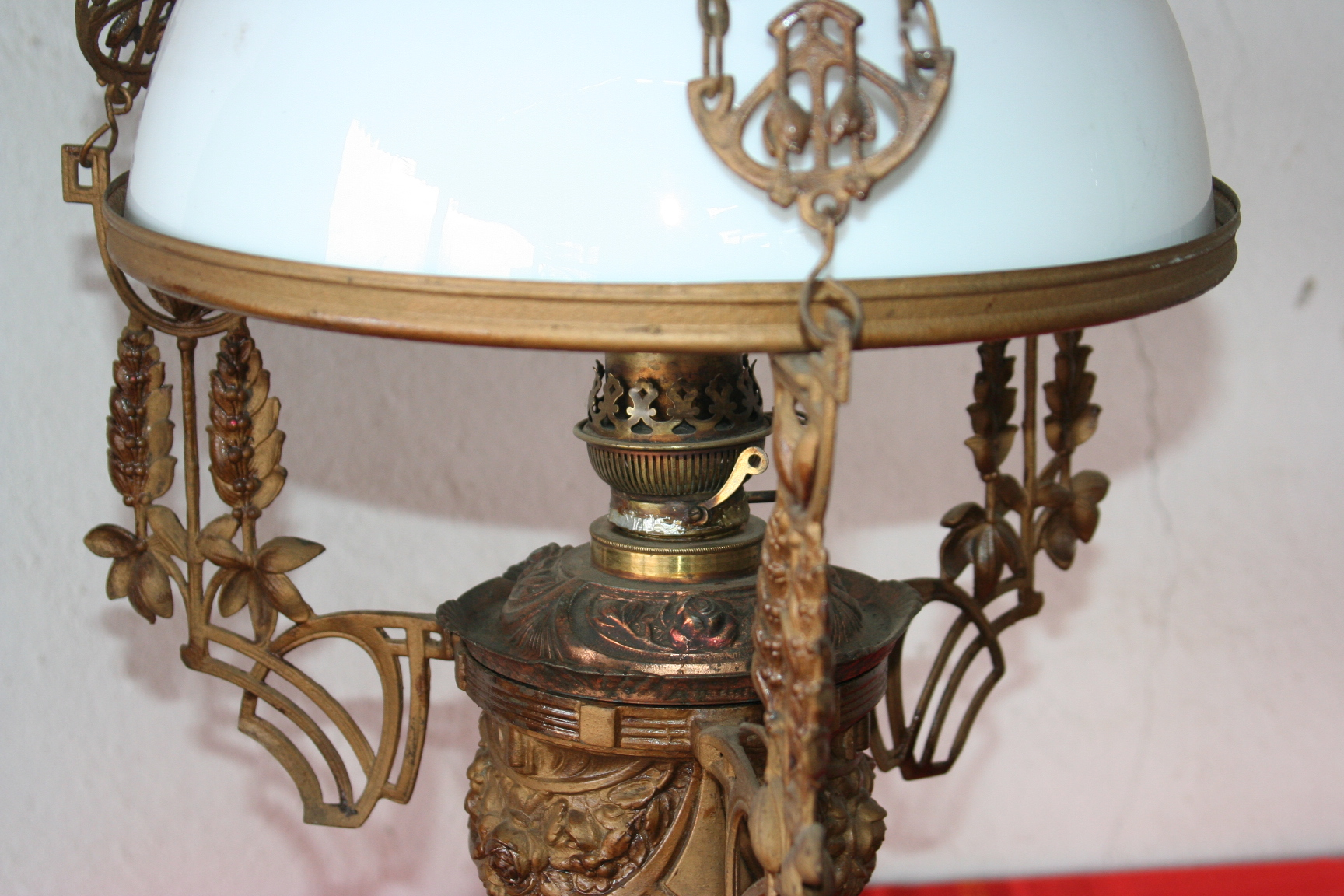 Img0164g my shop old lamps old gas chandelier aloadofball Image collections