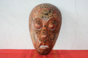 Old Wooden Mask