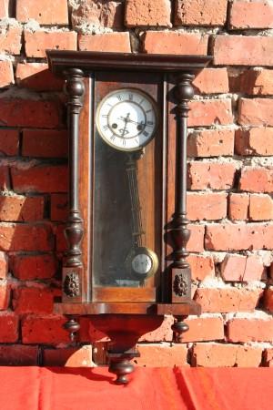 Old Clock With Pendulum