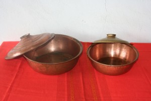 Copper Old National Vessels set