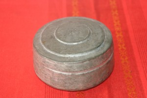 Copper container for food