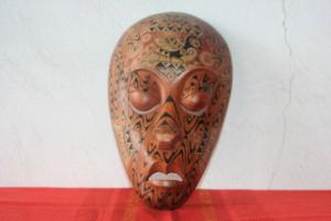 Old Wooden Mask