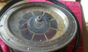 Old ship compass