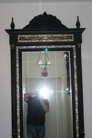 Big Old Marble Mirror