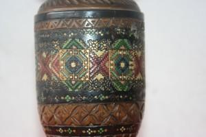 Old Austrian wooden Vase