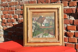 Old House france painting