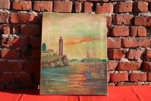 Lamp and Boats patra
